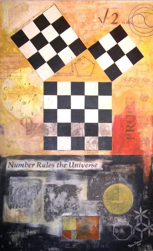 Imagen 5 - Marion Drennen - Homage to Pythagoras