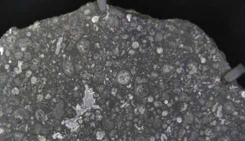 Imagen del meteorito Allende: Image credit: NASA GSFC