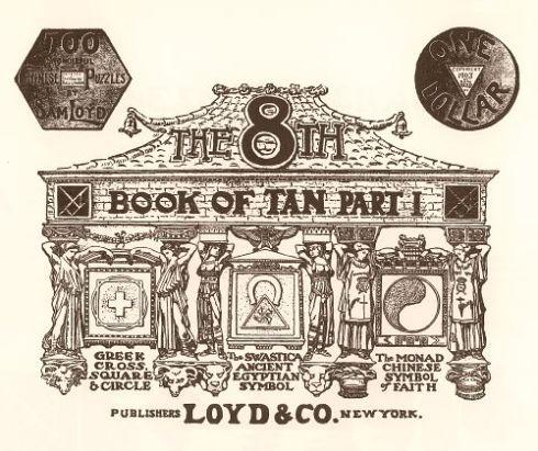Portada del libro El octavo libro de Tan (1903)
